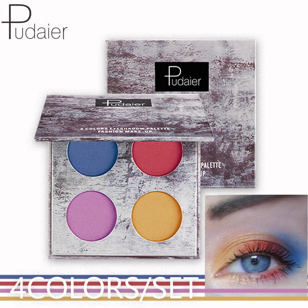 NEW 4color/set Eyeshadow Pallet Splash Ink Series Eye Shadow Makeup Portable Full Professional Makeup