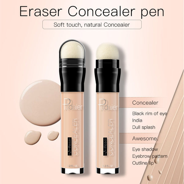 HOT  Eraser Concealer PenCorrector Makeup Rewind Cover Dark  6Colors