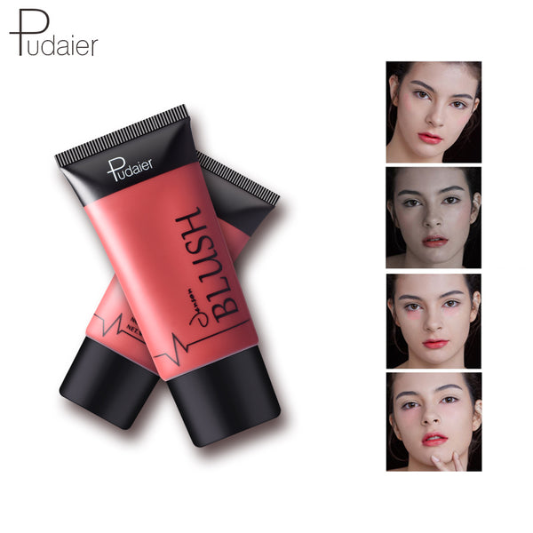 Face Blush Primer Makeup Liquid Maquiagem 4 Colors