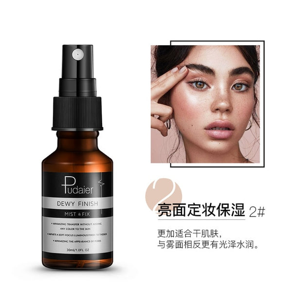 Face Spray Professional Fix Mist Matte Dewy Finish Moisturizing Toner Spray Makeup Setting Spray Oil-control