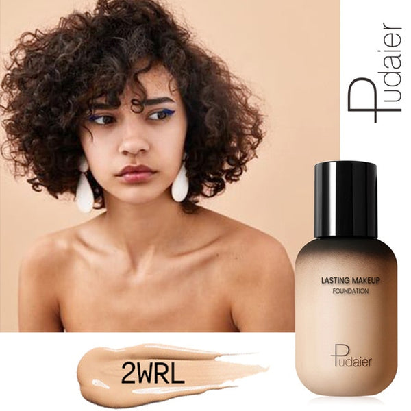 New Professional Face Foundation Makeup Full Coverage Liquid Foundation Cream Matte Foundation Base Face Concealer Cosmetic