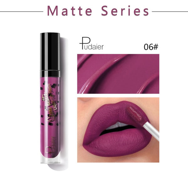 New Semi Matte Lipstick Long Lasting for Lip Makeup 12 Colors
