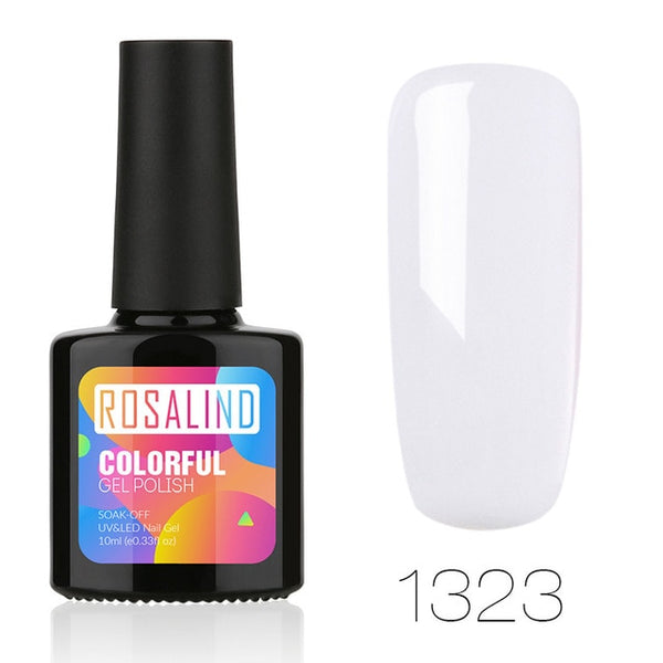 NEW 10ML Gel Nail  Polish Soak off TopWhite Coat Nail Art UV LED Gel Lacquer