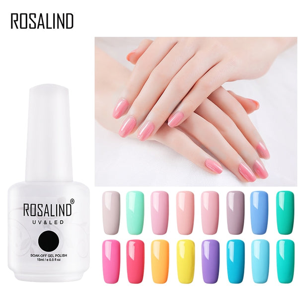 Nail Polish 15ml Gel Nail Art Set For Manicure Semi Permanent Soak Off Base White Primer Gel Lacquer