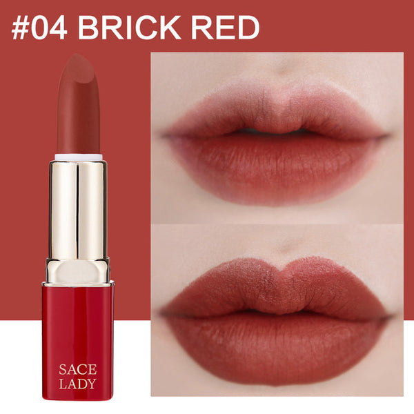 12 Colors Matte Lipstick Makeup Waterproof Nude Lip Stick Make Up Long Lasting Red Mate Lip Beauty Sexy Brand Cosmetic