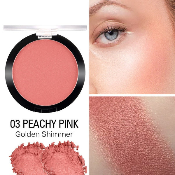 SACE LADY Face Blusher Powder Makeup Matte Blush Professional Cheek Rouge Make Up Natural Peach Cosmetic