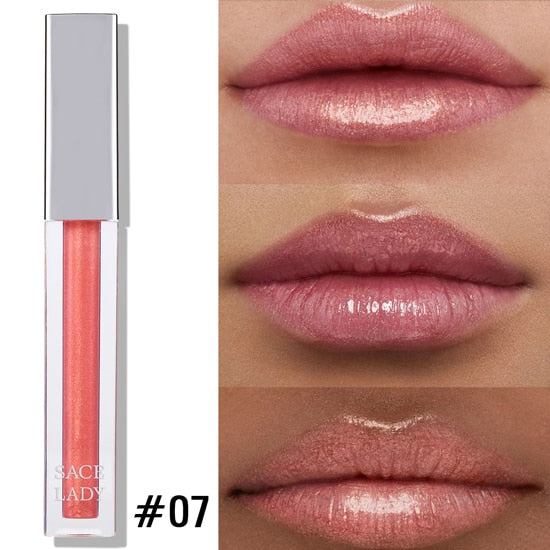 High Shine Lip Lacquer Makeup Smooth Build-able Intense Glitter Lip Gloss Beauty Sexy Make Up Moisturizing Cosmetic