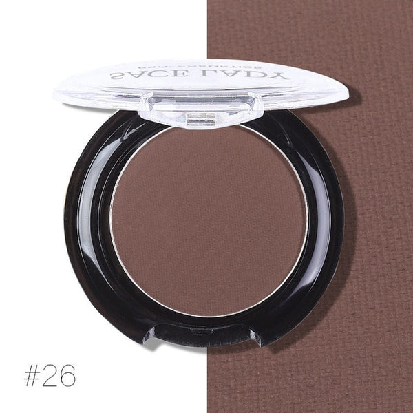 SACE LADY Matte Shadow Palette Makeup Waterproof Eyeshadow Professional Eye Shadow Pigment Natural Make Up Long-lasting Cosmetic
