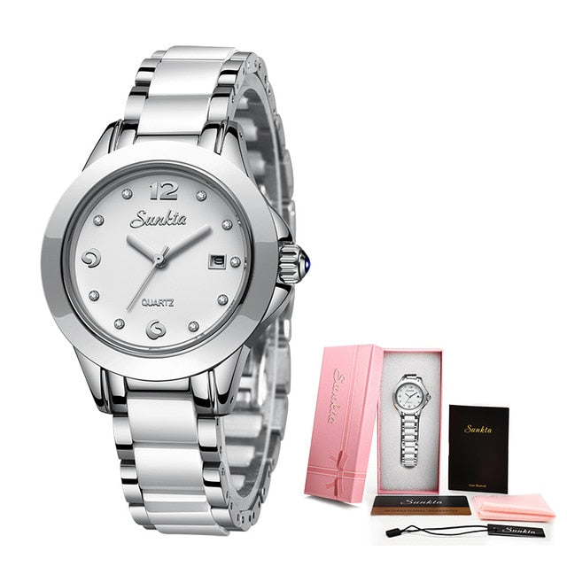 New Rose Gold Watch Women