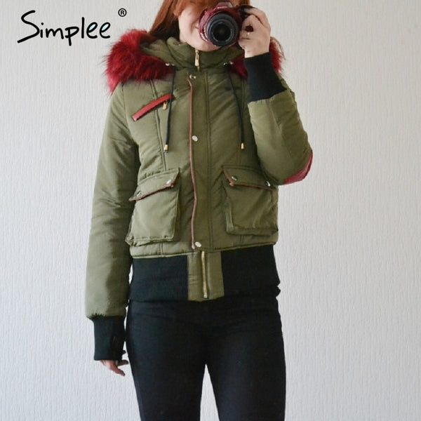 New winter jacket women coat