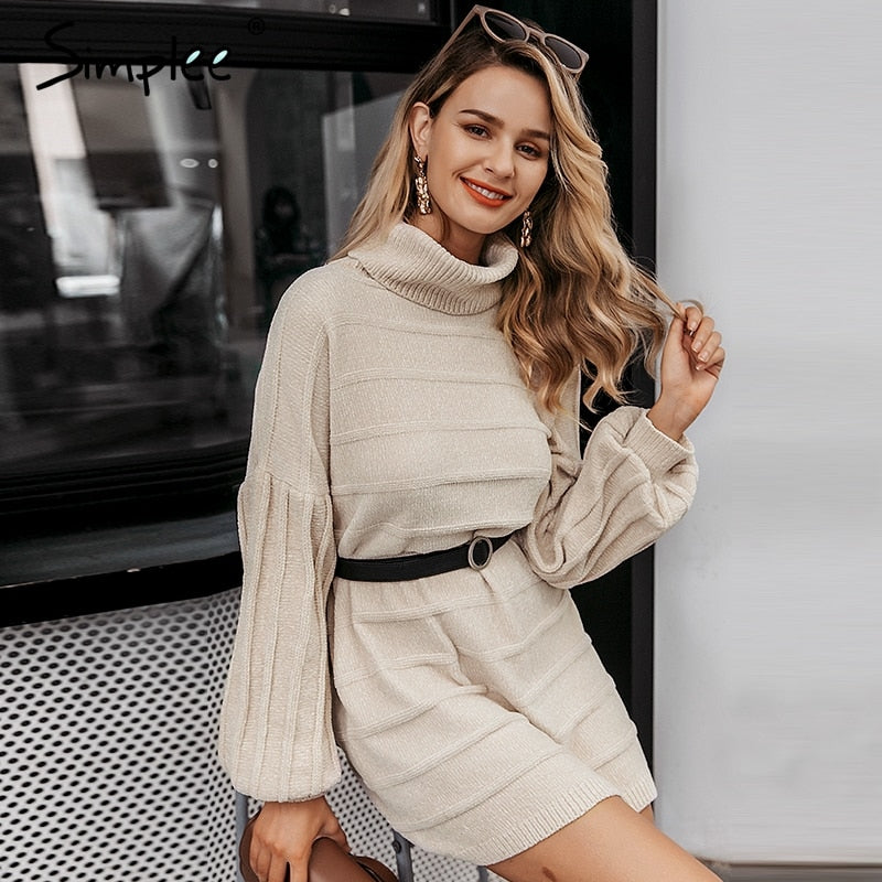 women sweater dress Autumn winter