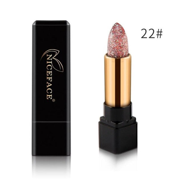 Waterproof Long Lasting Lipsticks Women's Fashion Lip Stick Lip Gloss Lipstick Temperature Color Change Lip Moisturizing Care