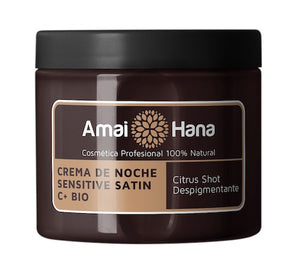 Crema de noche Sensitive Satin C+ Bio