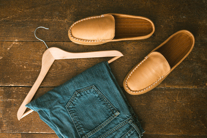 Moose Hide Mules for Men
