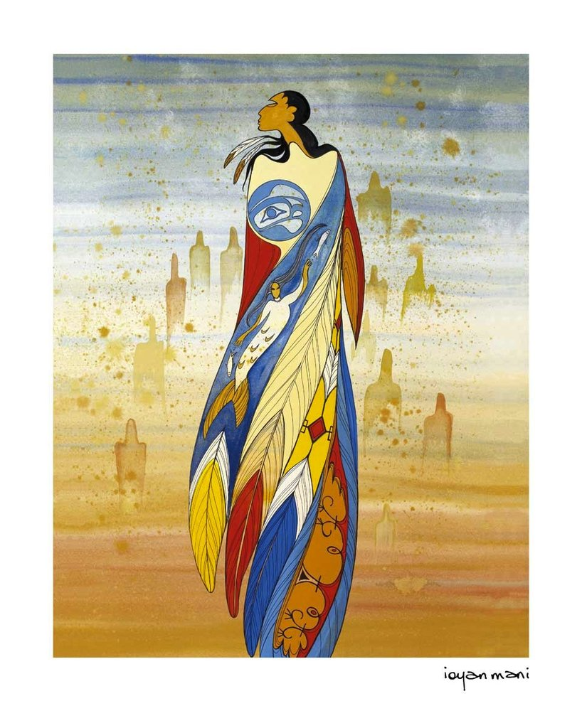 native artist maxine noel Not forgotten paiting