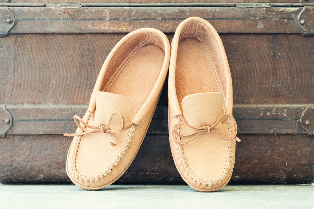 Bastien Industries Moosehide Moccasins