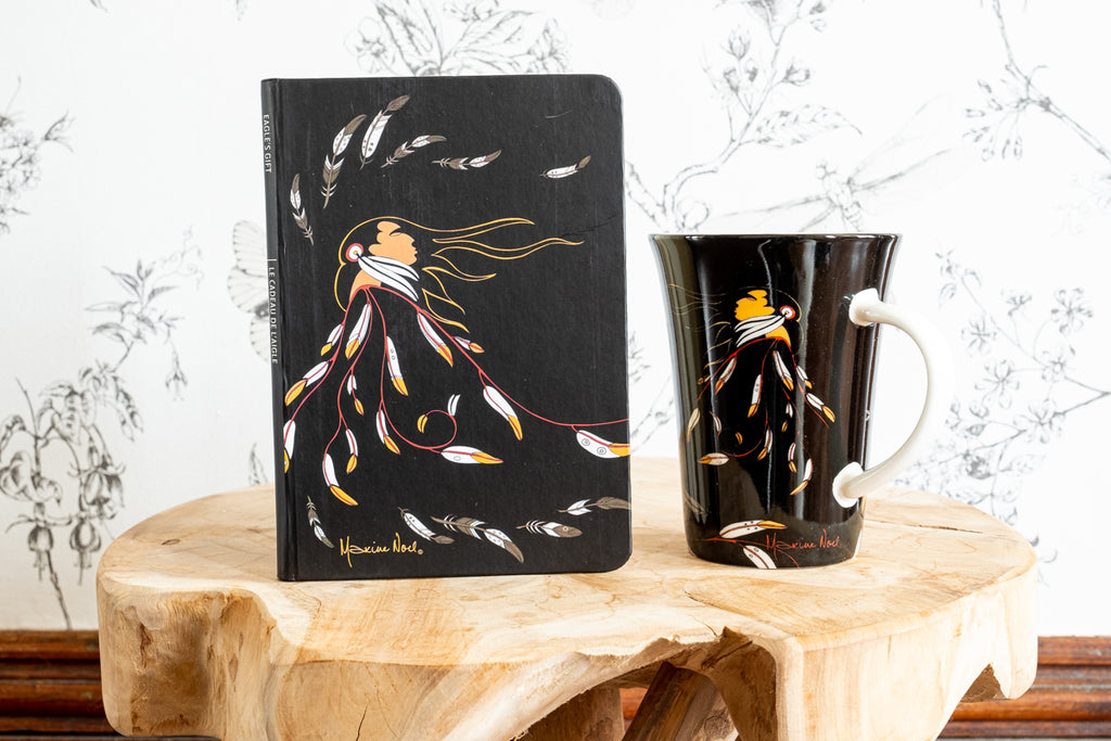 Maxine Noel Mug & Journal Eagles Gift