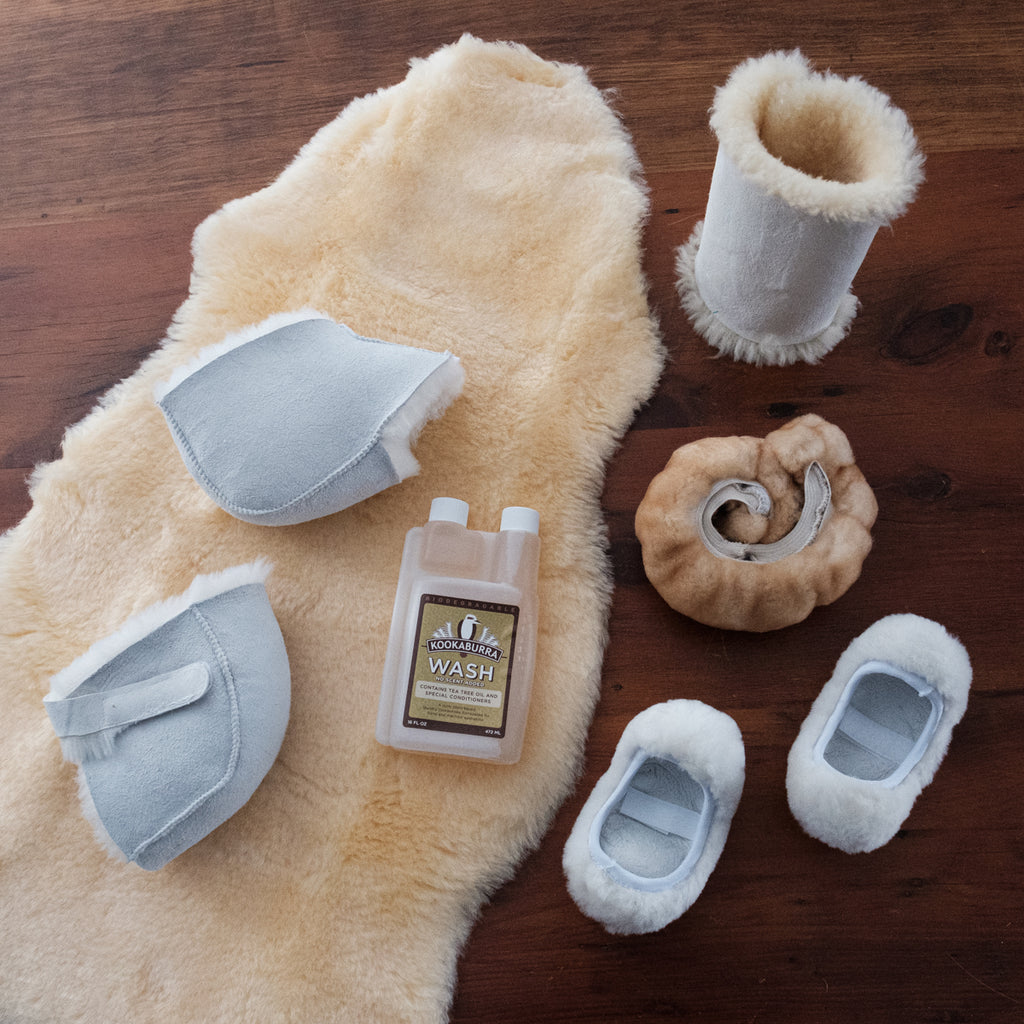 sheepskin shearling wool comfort care products