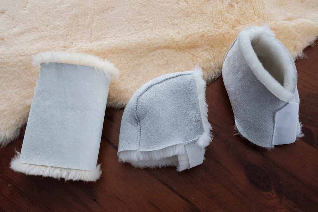 Forearm Protector and Partial Foot Cover Sheepskin comfort care