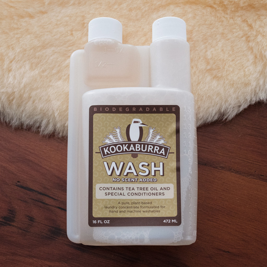 sheepskin natural wash