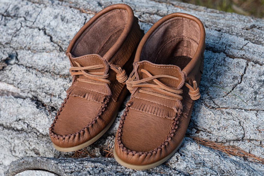 laurentian chife made in canada moccasins women