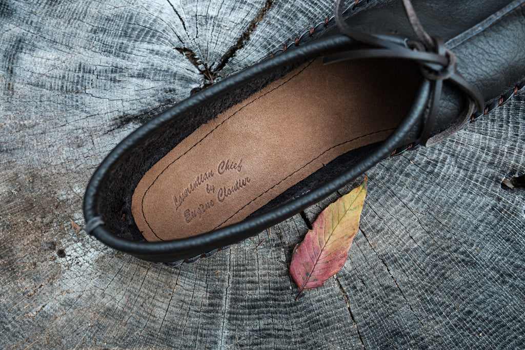 Laurentian Chief made in Canada moccasins for men