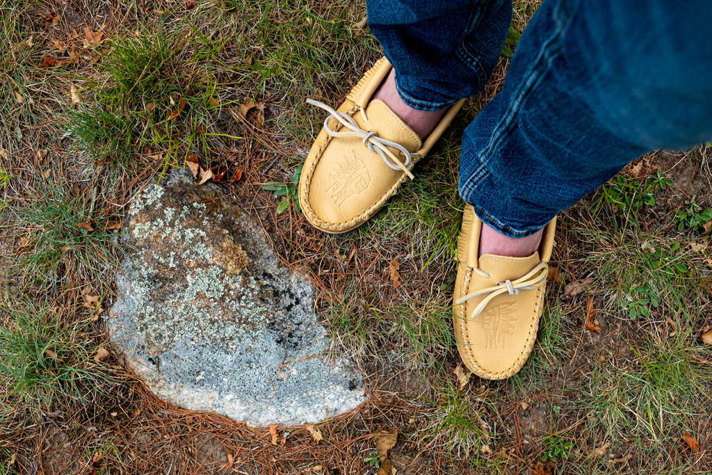 moccasins shoes for earthing