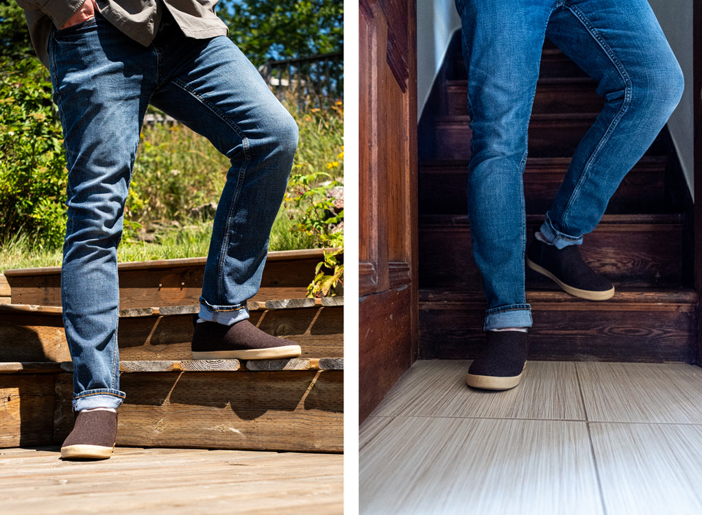 the unisex Homer sneaker by xtratuf is a handsome, durable, unisex shoe for indoor or outdoor use