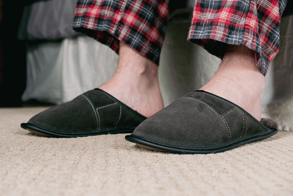 House slippers slip on perfect for getting out of bed in the morning