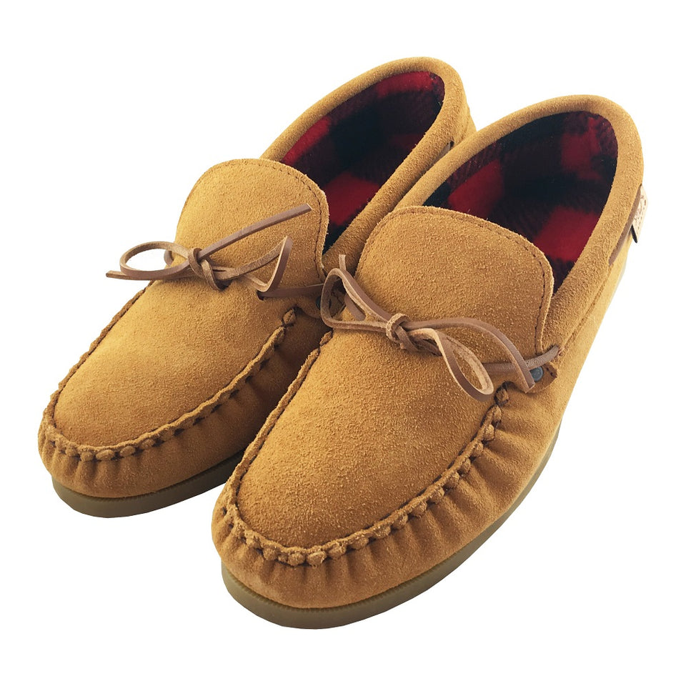 Genuine Leather Native American Moccasins Handmade In Canada For