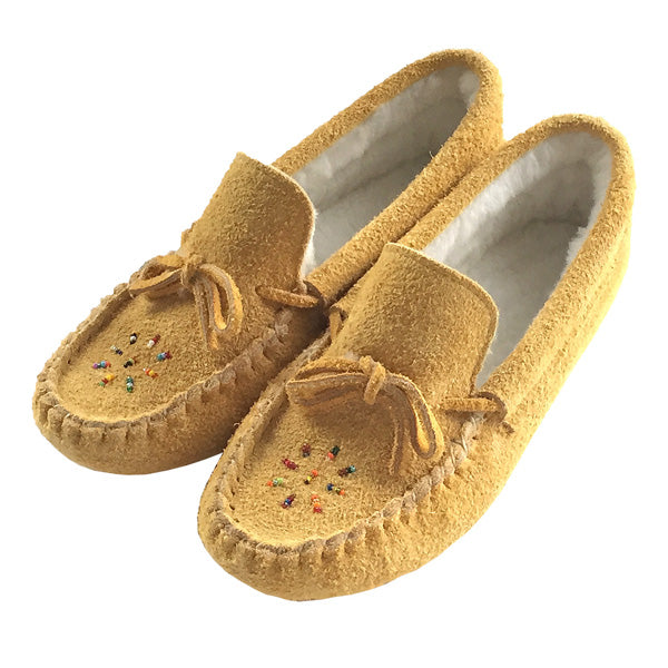 908540018fb79 Women's Handmade Native American Indian Genuine Leather Moccasins ...