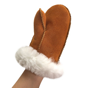 Children's Sheepskin Mittens