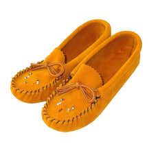Children's Beaded Suede Moccasins