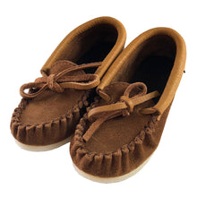 Children's Suede Moccasin Shoes