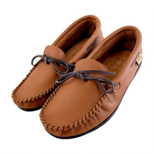 Men's Elk Hide Leather Moccasin Shoes