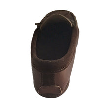 Men's Heavy Oil Tan Leather Moccasin Shoes