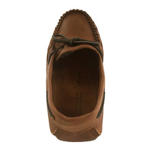 Men's Wide Leather Earthing Moccasins