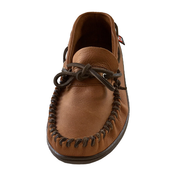 Extra Wide Fit Brown Genuine Leather