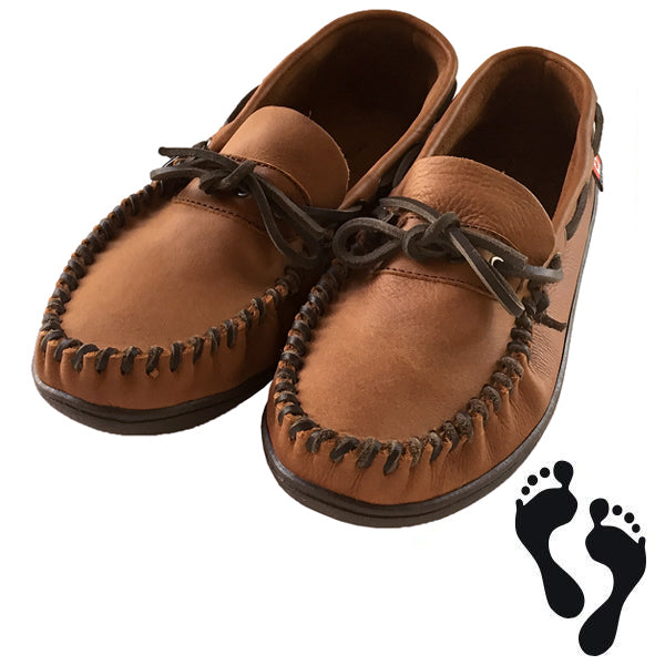 Men S Extra Wide Fit Brown Genuine Leather Driving Outdoor