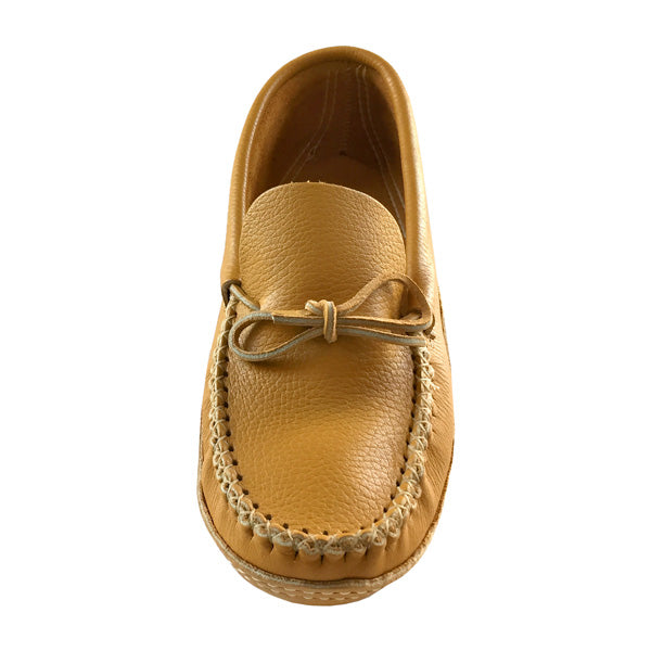 Genuine Leather Moccasin Slippers