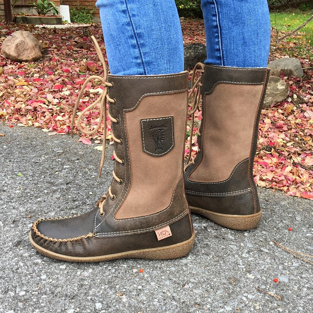 Insulated Mukluk Winter Moccasin Boots