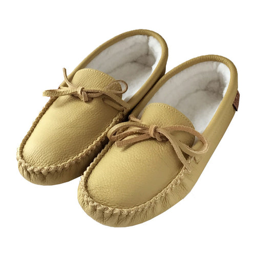 Men's Fleece Lined Moccasins