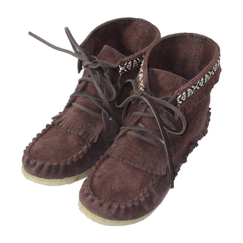 Children's FINAL SALE Suede Moccasin Boots (SIZE 12 & 13 ONLY)