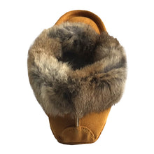 Men's Rabbit Fur Moccasins