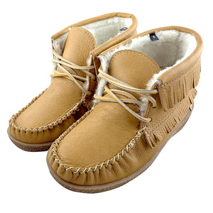 Women's Apache Sheepskin Lined Moccasin Boots
