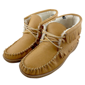 Men's Apache Sheepskin Lined Moccasin Boots