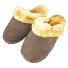 Men's Sheepskin Slip On Slippers (SIZE S & XL ONLY)