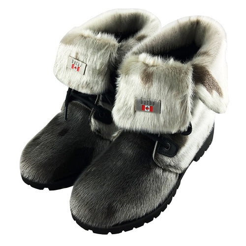 Women's Seal Skin Boots (Size 9 ONLY)