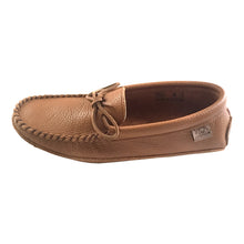 Men's Chestnut Leather Moccasins