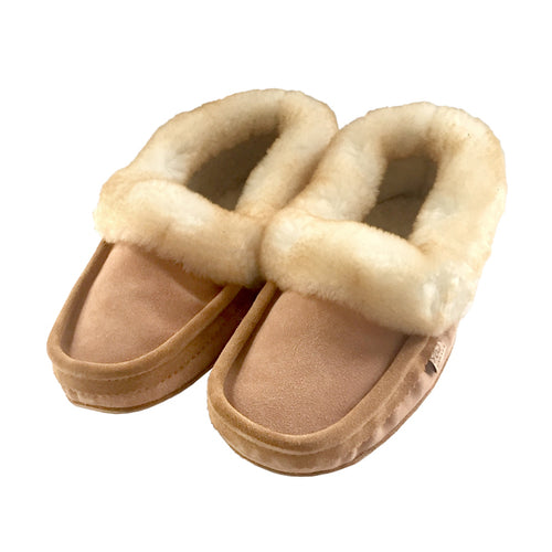 Men's Sheepskin Moccasins